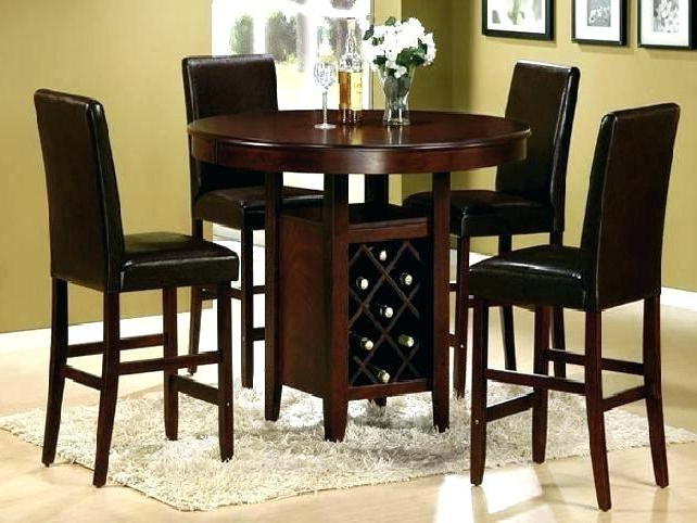 Black Dining Room Table Black Dining Room Table With Chairs Inside Popular Magnolia Home Breakfast Round Black Dining Tables (View 14 of 20)