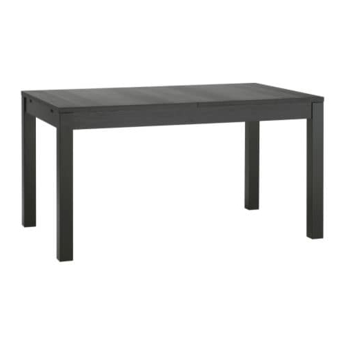 Black Dining Tables Inside Best And Newest Bjursta Extendable Table – Ikea (View 7 of 20)