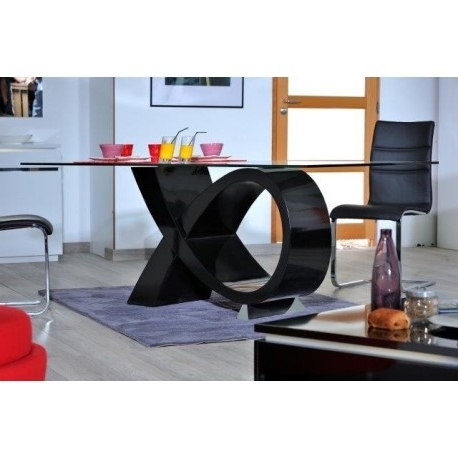 Black High Gloss Dining Tables Inside Favorite Orde Black High Gloss Dining Table – Dining Tables (1337) – Sena (View 20 of 20)