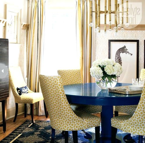 Blue Dining Table – Pablosbarbers Within Fashionable Blue Dining Tables (View 2 of 20)
