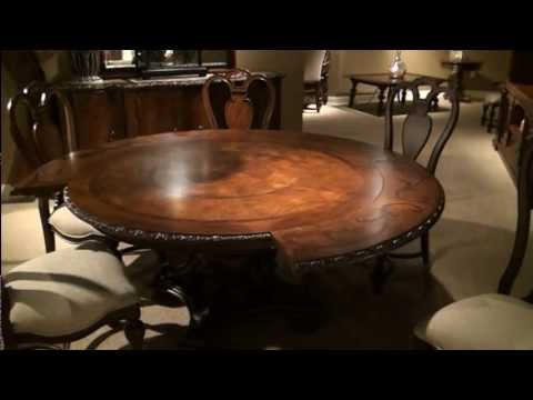 Bolero Seville Round Pedestal Dining Tableuniversal Furniture For Current Universal Dining Tables (View 3 of 20)