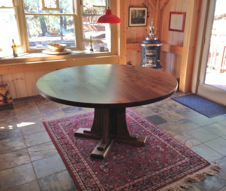 Boulder Furniture Arts For Craftsman Round Dining Tables (View 5 of 20)