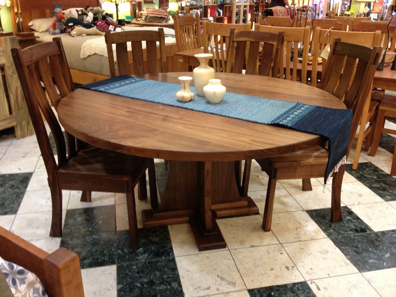 Boulder Furniture Arts Throughout Most Popular Craftsman Round Dining Tables (View 2 of 20)