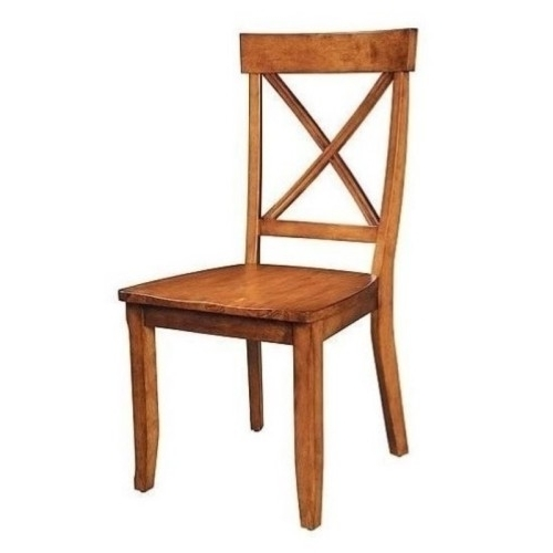 Bowery Hill Dining Chair In Oak (Set Of 2) : More From Best Buy For 2017 Bowery Ii Side Chairs (View 4 of 20)
