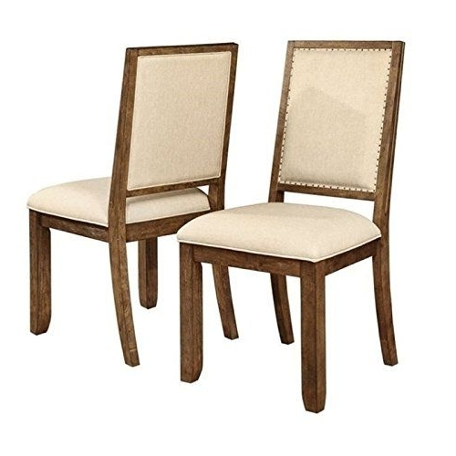 Bowery Ii Side Chairs In Trendy Bowery Hill Dining Chair In Weathered Acacia (View 6 of 20)