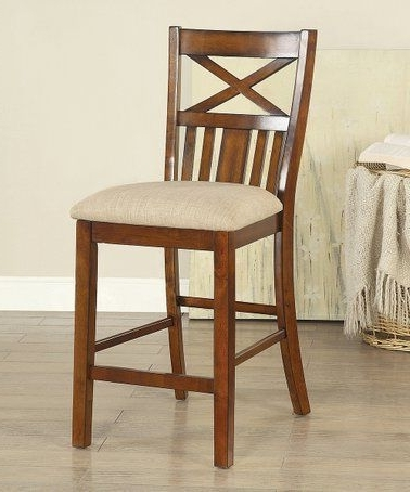 Bradford 7 Piece Dining Sets With Bardstown Side Chairs Inside Most Current Look What I Found On #zulily! Channer X Back Wood Chair #zulilyfinds (Gallery 20 of 20)
