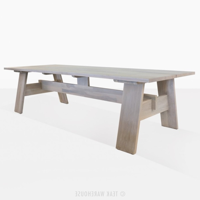 Bradford Outdoor Dining Tables (Aged) (View 10 of 20)