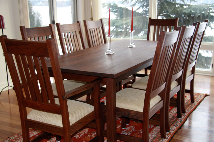 Branch Hill Joinery Pertaining To 2018 Walnut Dining Table Sets (View 4 of 20)