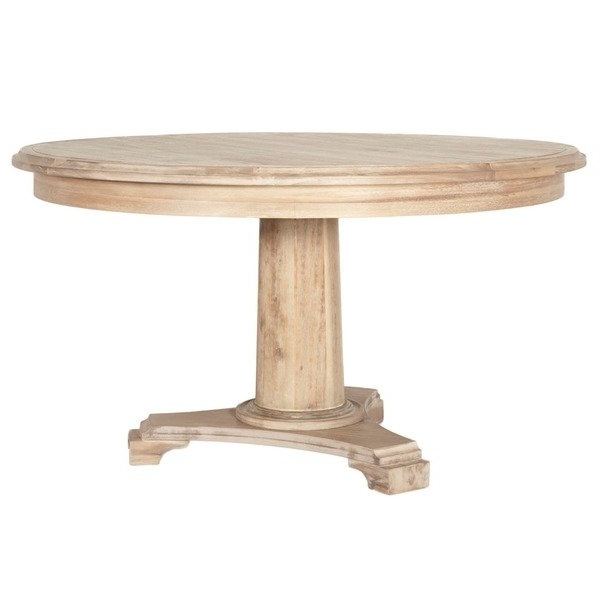 Brittany Dining Tables In Most Current Shop Brittany Wood 54 Inch Round Dining Table – Free Shipping Today (View 17 of 20)
