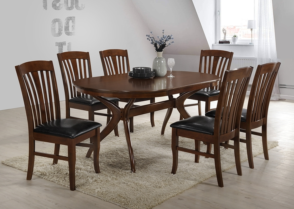 Brittany Dining Tables Throughout Current Brittany Set With 6 Chairs (Gallery 5 of 20)