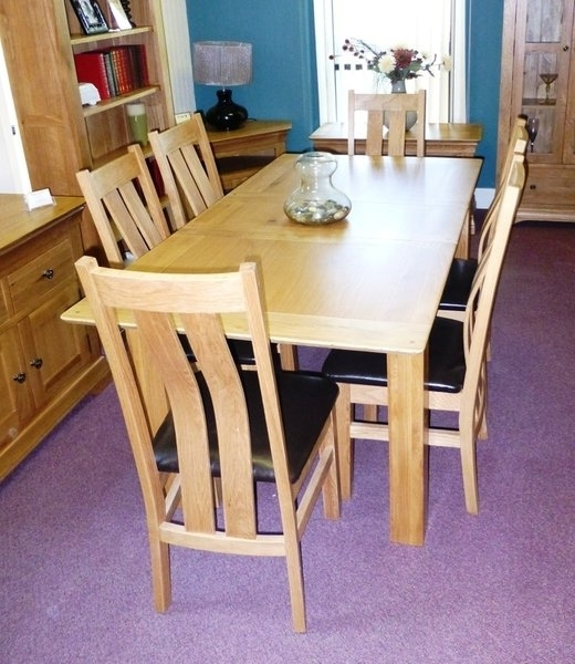 Brittany Dining Tables Within Most Popular Dining Tables And Chairs, Leyland, Preston, Lancashire. Oak Tables (Gallery 10 of 20)