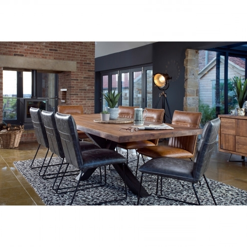 Broadway 200Cm Dining Table + 6 Cooper Dining Chairs In 2017 Cooper Dining Tables (Gallery 3 of 20)