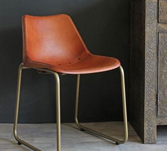 Brown Leather Dining Chairs Throughout Fashionable Dining Chairs – 10 Of The Best (View 3 of 20)