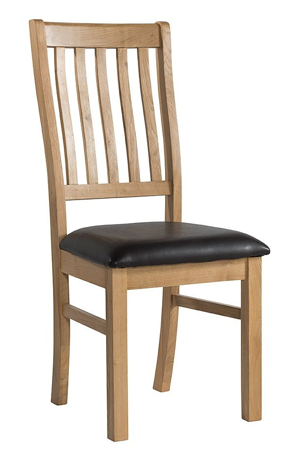 Burford Oak Dining Chair – Great Value Pertaining To Newest Oak Dining Chairs (View 10 of 20)