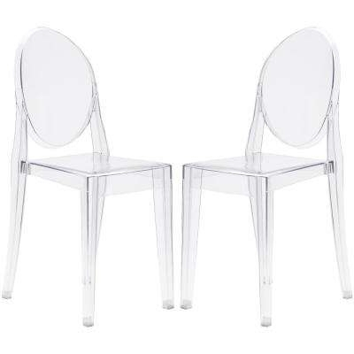 Featured Photo of Burton Metal Side Chairs With Wooden Seat