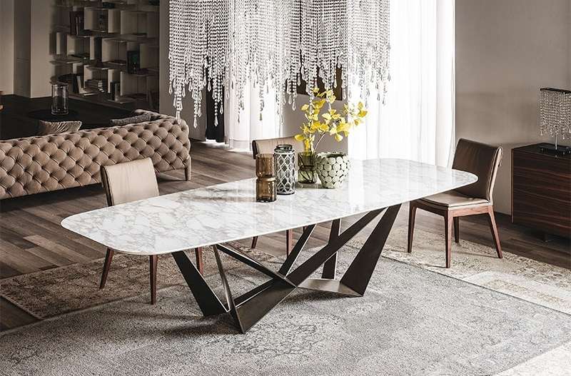 Buy: Dining Tables With Unique Base Designs (View 3 of 20)
