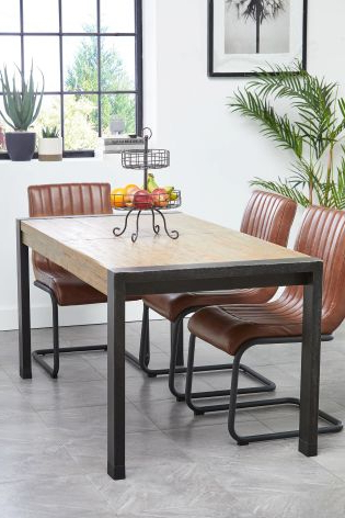 Buy Hudson 6 – 8 Extending Dining Table From The Next Uk Online Shop For Preferred Jaxon 6 Piece Rectangle Dining Sets With Bench & Uph Chairs (View 2 of 20)