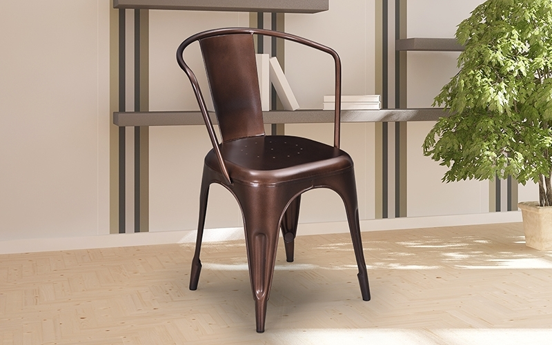 Buy Royaloak Vespa Outdoor Chaironline In India – Study & Office In Trendy Vespa Side Chairs (View 16 of 20)