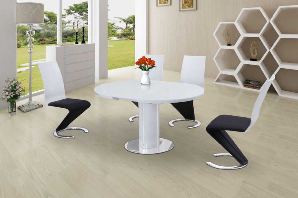 Buy Small Round Extendable Dining Table Today Throughout Favorite Small White Extending Dining Tables (View 2 of 20)