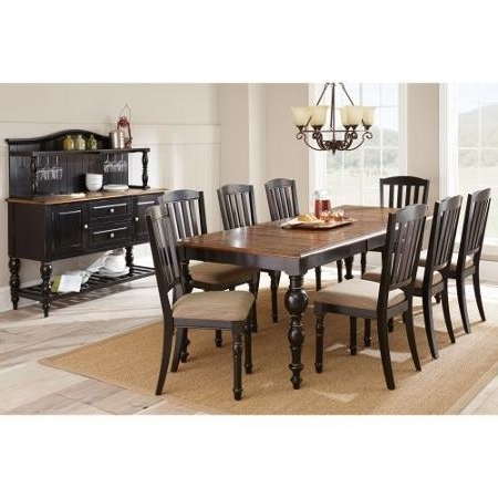 Buy Steve Silver Carrolton 9 Piece Dining Table Set With Optional Throughout Most Recently Released Candice Ii 7 Piece Extension Rectangular Dining Sets With Slat Back Side Chairs (View 4 of 20)