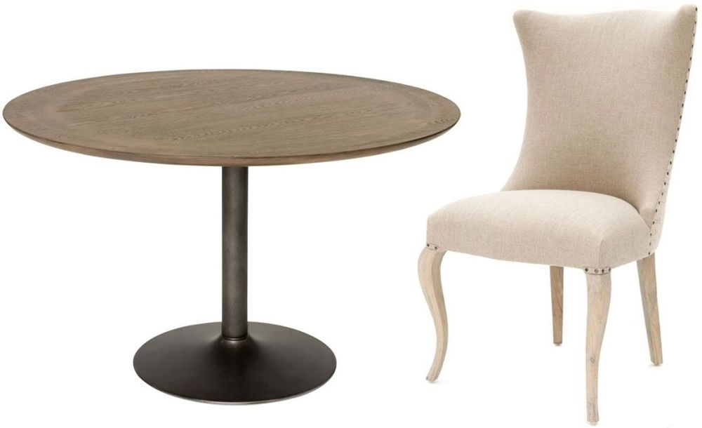 Buy Willis And Gambier Camden Round Dining Set With 4 Barcelona Inside Trendy Camden Dining Chairs (View 3 of 20)