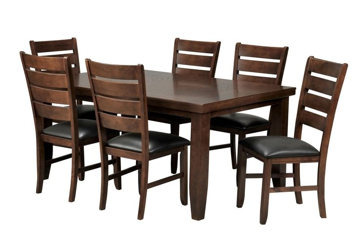Cabinet, Closet Throughout Most Recent Bradford 7 Piece Dining Sets With Bardstown Side Chairs (View 7 of 20)