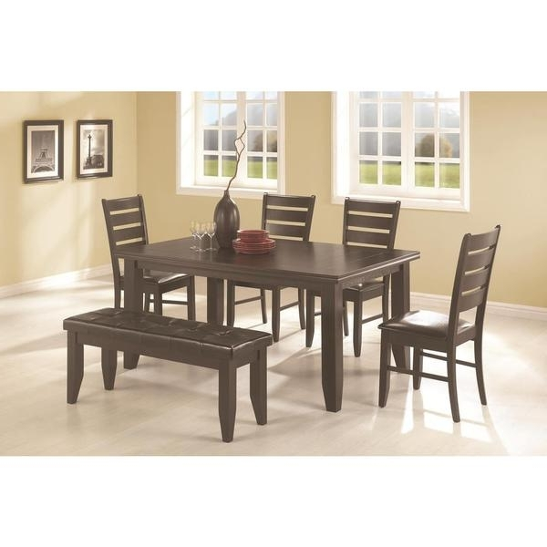 Caden 6 Piece Rectangle Dining Sets For Well Known Talara 6 Piece Dining Set – Free Shipping Today – Overstock – (View 2 of 20)