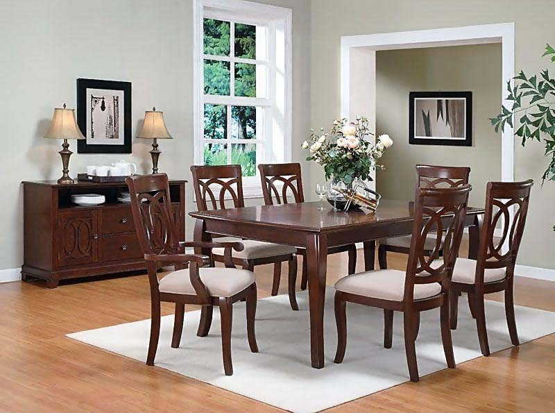 Caden Rectangle Dining Tables Throughout Most Recent Caden Dining Room Set (View 5 of 20)