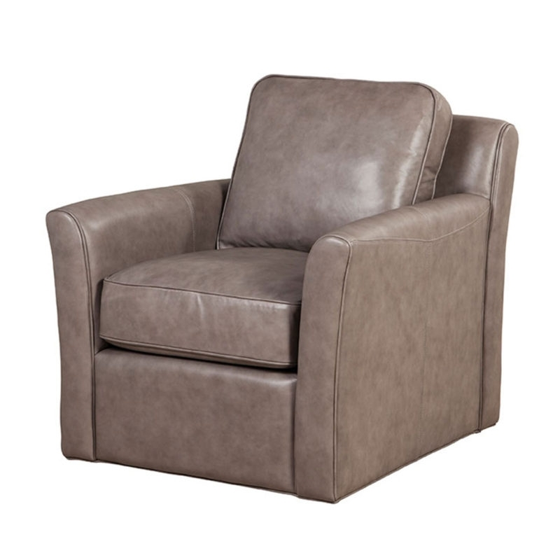 Caden Swivel Chair – Cameo Light Gray – Spectra Home Furniture For Well Known Caden Upholstered Side Chairs (View 5 of 20)