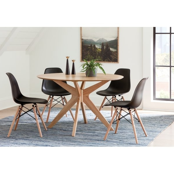 Caira 7 Piece Rectangular Dining Sets With Upholstered Side Chairs Within Well Known Crystal Dining Set (View 6 of 20)