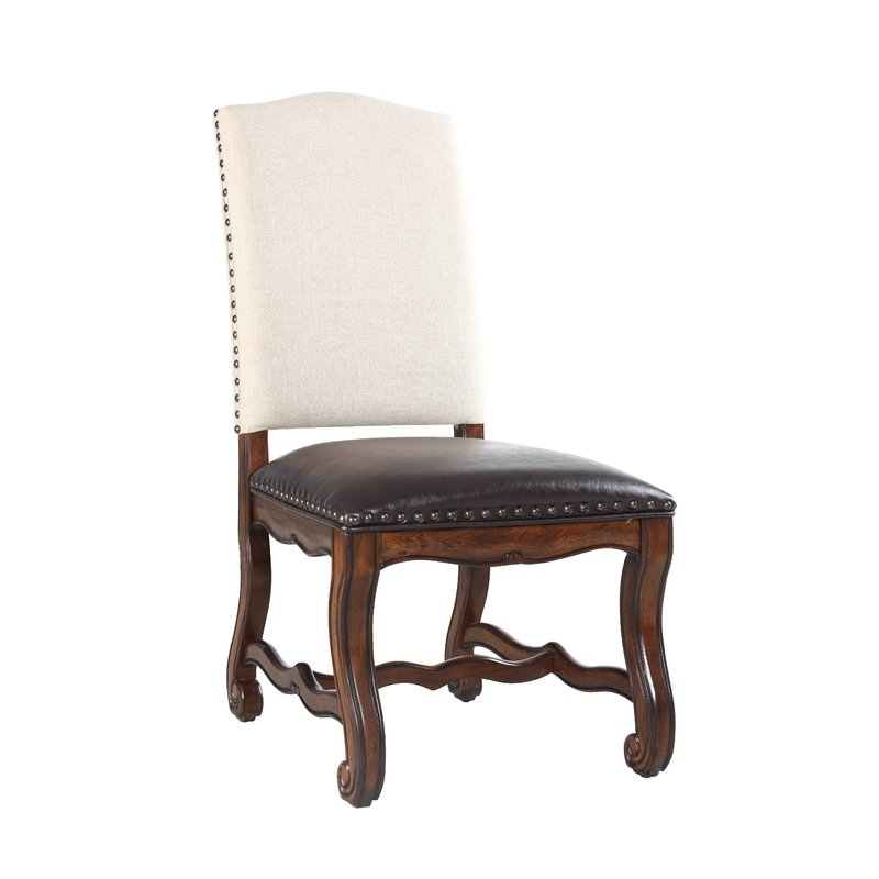 Caira Black 5 Piece Round Dining Sets With Upholstered Side Chairs Inside Most Recent Astoria Grand Berwyn 5 Piece Solid Wood Dining Set (View 19 of 20)