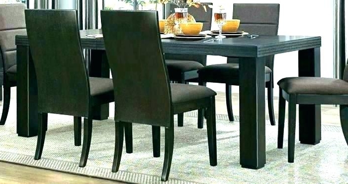 Caira Black Round Dining Tables Throughout Recent Round Espresso Dining Table Espresso Round Dining Table With Leaf (View 8 of 20)