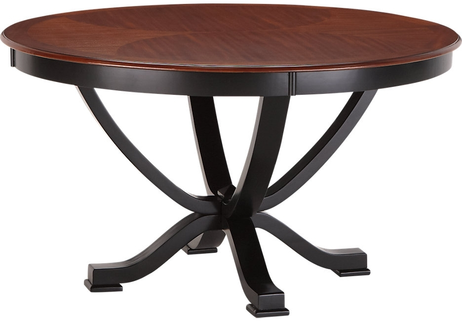 Caira Black Round Dining Tables With Favorite Dining Tables: Outstanding Black Round Dining Table Round Dining (View 3 of 20)