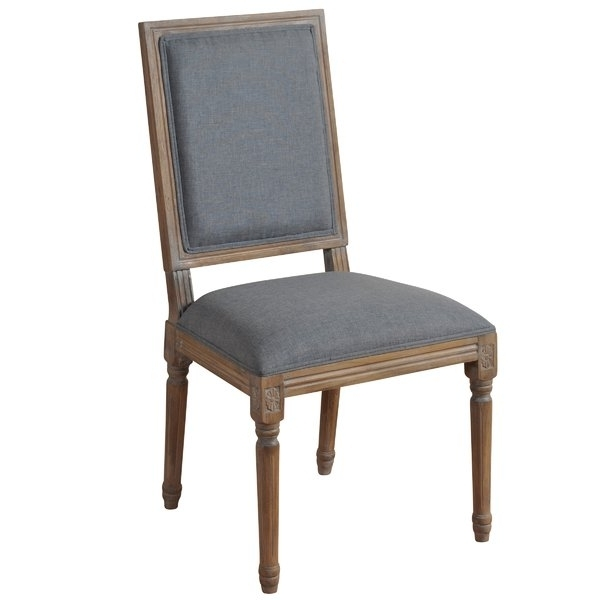 Caira Black Upholstered Arm Chairs Regarding Newest French Oval Back Dining Chair (View 3 of 20)