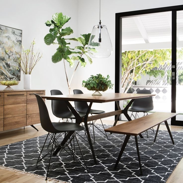 Caira Black Upholstered Diamond Back Side Chairs Within Current 115 Best Dining Rooms Images On Pinterest (View 13 of 20)