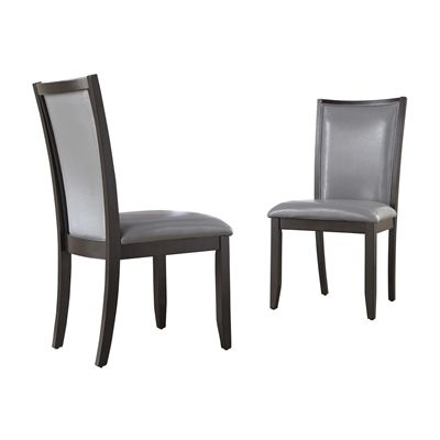 Caira Black Upholstered Side Chairs In 2017 Signature Designashley D550 0 Trishelle Upholstered Side Dining (View 3 of 20)