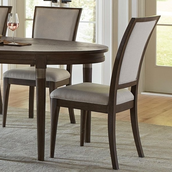 Caira Black Upholstered Side Chairs Regarding Best And Newest Joelle Upholstered Side Chair – Free Shipping Today – Overstock (View 5 of 20)