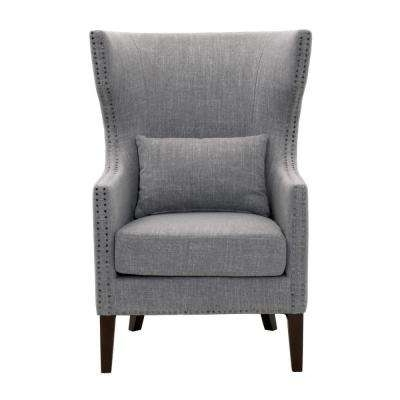 Caira Black Upholstered Side Chairs With Regard To Famous Nailhead Trim – Linen – Side Chair – Accent Chairs – Chairs – The (View 6 of 20)