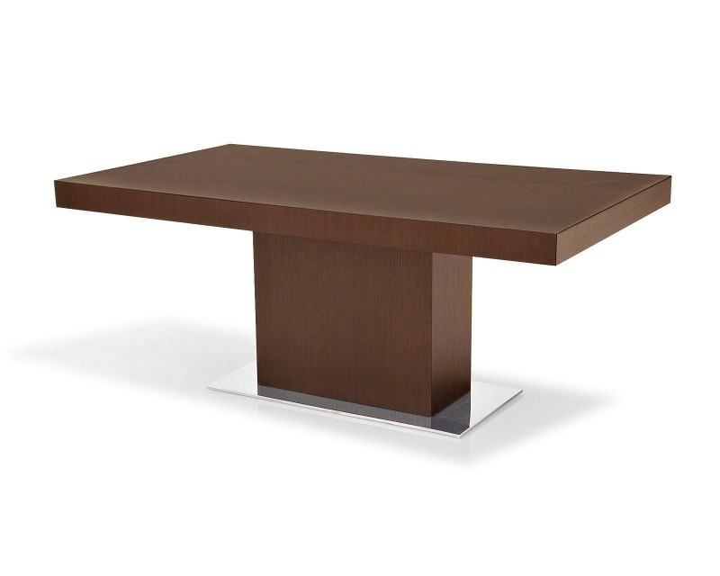 Caira Extension Pedestal Dining Tables Pertaining To 2017 Dining Tables: Glamorous Rectangular Pedestal Dining Table Pedestal (View 3 of 20)