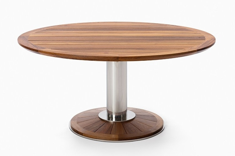 Caira Extension Pedestal Dining Tables With 2018 Pedestal Dining Tables – Soulpower (View 4 of 20)
