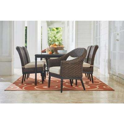 Camden Dining Chairs Throughout Well Liked Camden – Patio Dining Sets – Patio Dining Furniture – The Home Depot (View 8 of 20)