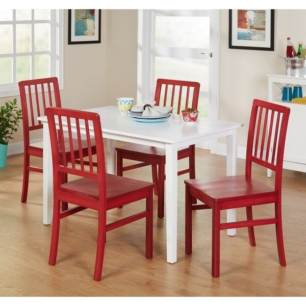 Camden Dining Chairs With Regard To Favorite Shop Simple Living 5 Piece Camden Dining Set – Free Shipping Today (View 4 of 20)