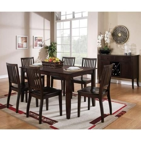 Candice Ii 7 Piece Extension Rectangle Dining Sets In Famous Steve Silver Candice Dining Table (View 9 of 20)