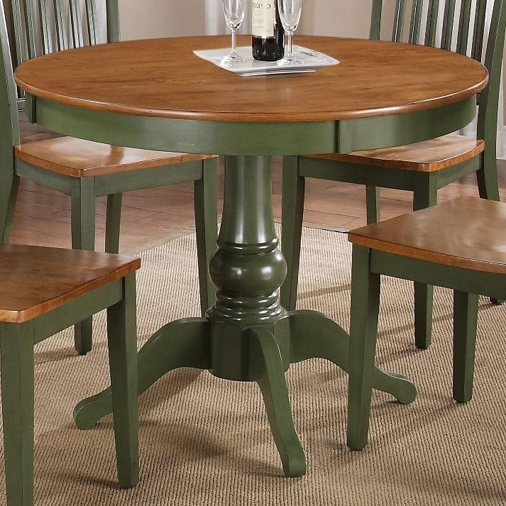 Candice Ii Round Dining Tables For Famous Buy Candice Round Pedestal Tablesteve Silver From Www (View 4 of 20)