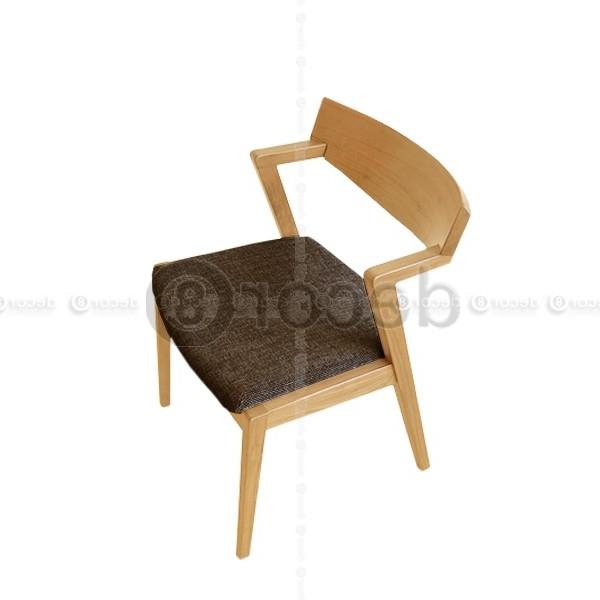 Carmel Oak Wood Dining Chair (View 9 of 20)