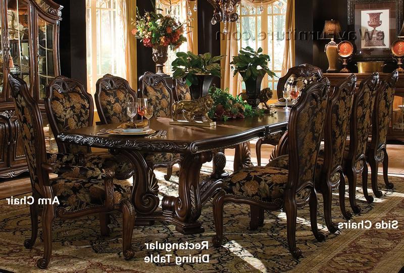 Casablanca Rectangular Dining Table Pertaining To Famous Rectangular Dining Tables Sets (View 7 of 20)