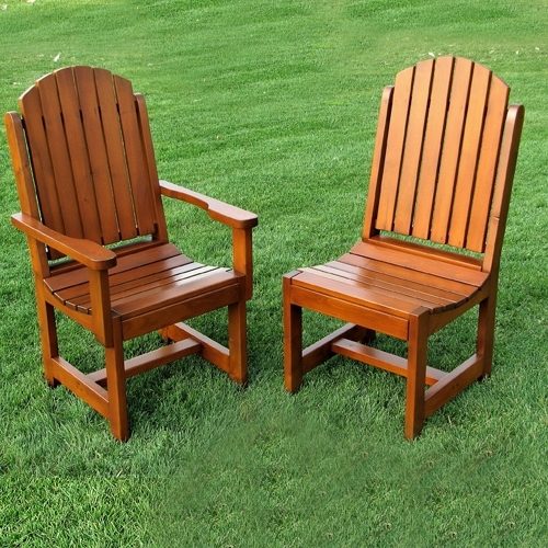 Featured Photo of Green Cedar Dining Chairs