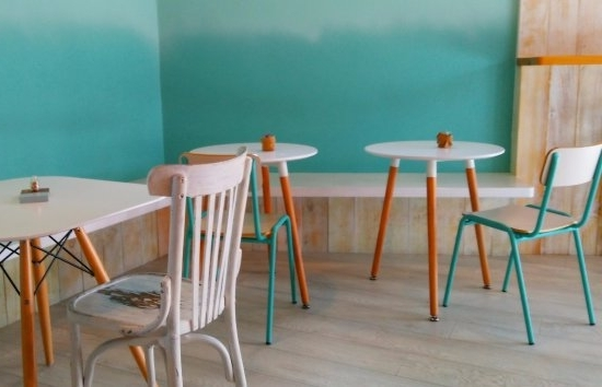 Celler Teal Side Chairs Within Current Pamsucre, Premia De Dalt – Restaurant Reviews, Phone Number & Photos (View 7 of 20)