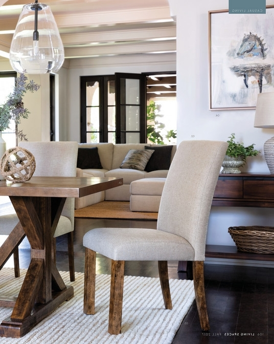 Chandler Extension Dining Tables Throughout Latest Living Spaces – Fall 2017 – Chandler Extension Dining Table (View 5 of 20)