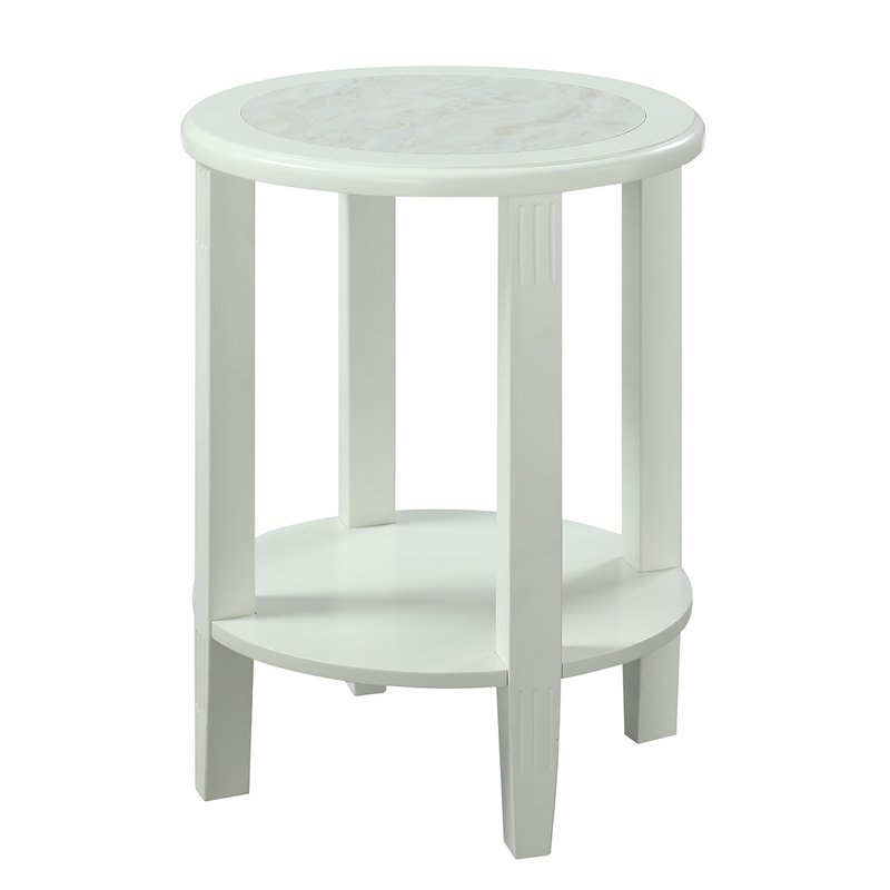 Chapleau Extension Dining Tables Intended For 2018 Charlton Home Versailles End Table & Reviews (View 2 of 20)